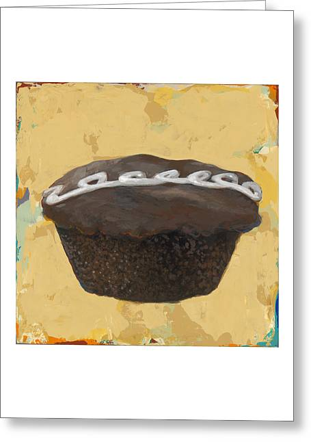 Cupcake #2 Greeting Card by David Palmer