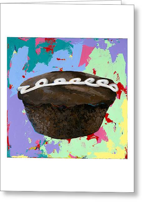 Cupcake #3 Greeting Card by David Palmer