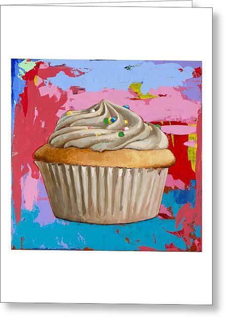 Cupcake #4 Greeting Card by David Palmer