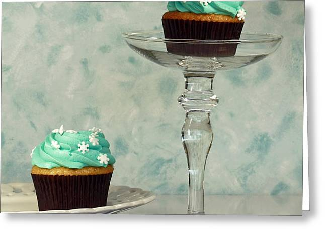 Cupcake Frenzy Greeting Card by Inspired Nature Photography By Shelley Myke