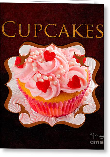 Commercial Photography Greeting Cards - Cupcake Gallery Greeting Card by Iris Richardson