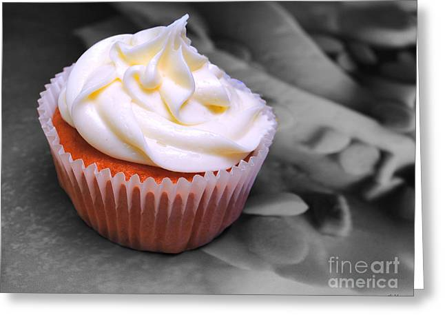 Cupcake Photography Greeting Cards - Cupcake I Greeting Card by Jai Johnson