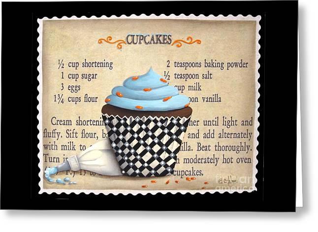 Cupcake Masterpiece Greeting Card by Catherine Holman