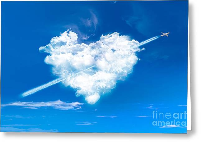 Mother Gift Greeting Cards - Cupido Greeting Card by Delphimages Photo Creations