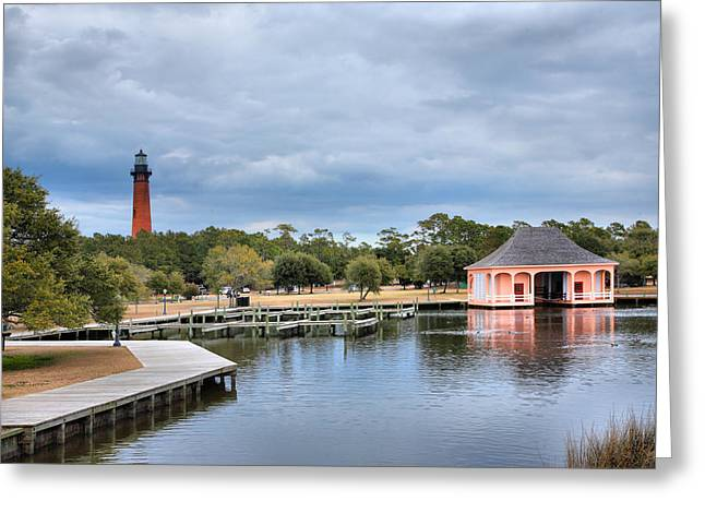 Bathhouse Greeting Cards - Currituck Heritage Park II Greeting Card by Steven Ainsworth