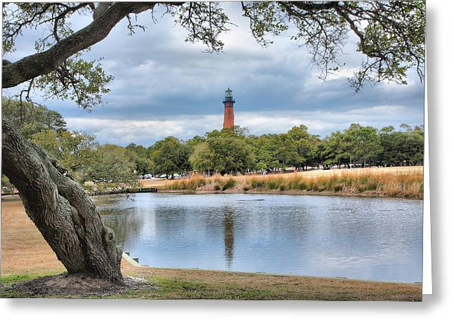 Pond Framed Prints Greeting Cards - Currituck Heritage Park Greeting Card by Steven Ainsworth