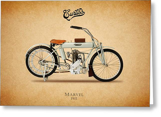 Curtiss Greeting Cards - Curtiss Marvel 1911 Greeting Card by Mark Rogan