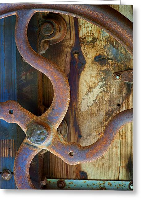 Curves And Lines II Greeting Card by Stephen Anderson