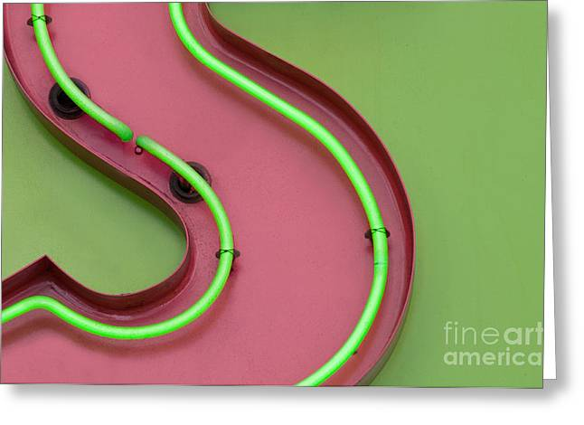 Curves Greeting Card by Dan Holm