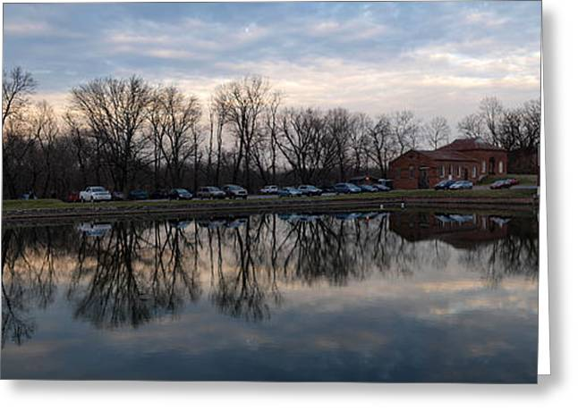 Williamsport Greeting Cards - Cushwa Basin C and O canal Greeting Card by Joshua House
