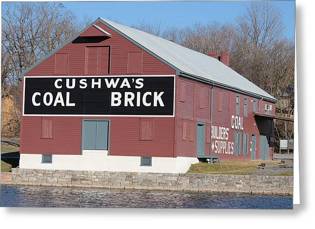 Williamsport Greeting Cards - Cushwas Coal Greeting Card by JB Stran