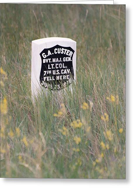 Little Big Horn Photographs Greeting Cards - Custer Deserved It Greeting Card by Frankie Wilson