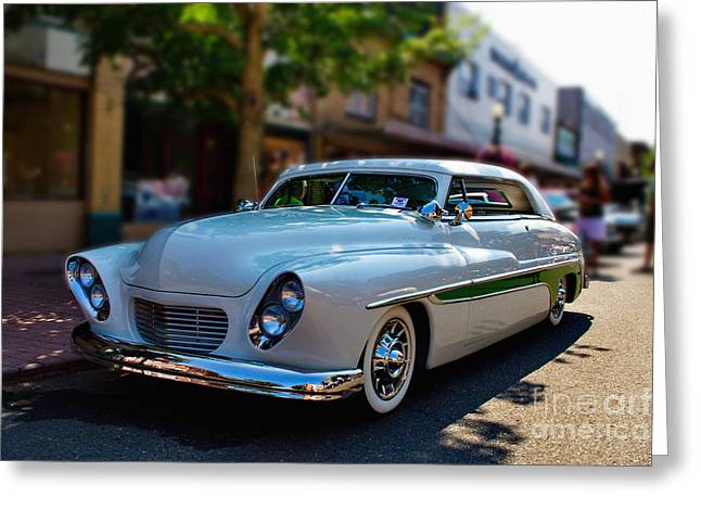 Custom 49 Mercury Greeting Card by Ansel Price
