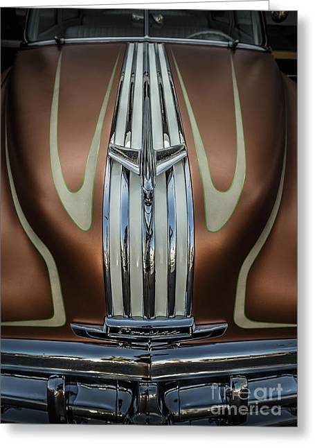 Car Framed Prints Greeting Cards - Custom Pontiac Greeting Card by Holly Martin