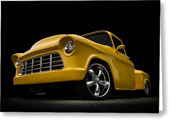 Chevy Pickup Greeting Cards - Cut 55 Greeting Card by Douglas Pittman