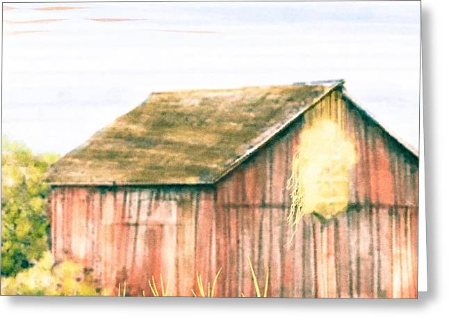 Barn Digital Greeting Cards - Cut Ties Greeting Card by Steven Boland