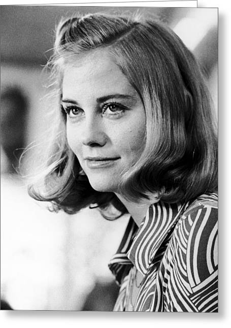 Cybill Shepherd Greeting Cards - Cybill Shepherd Greeting Card by Silver Screen