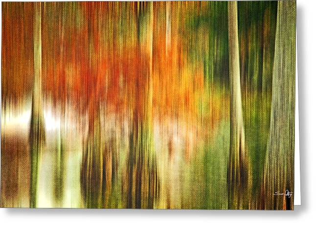 Cypress Pond Greeting Card by Scott Pellegrin
