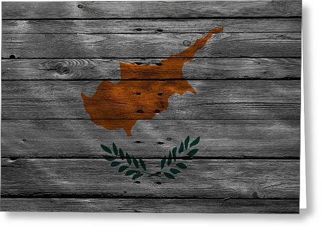Continent Greeting Cards - Cyprus Greeting Card by Joe Hamilton