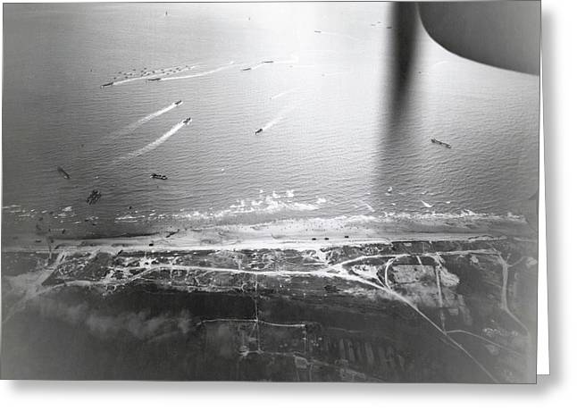 D-day Landings Greeting Card by Us Air Force