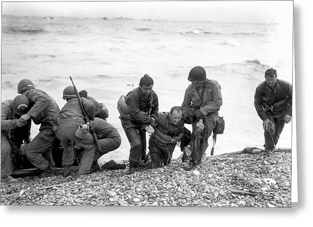 D-day Landings Greeting Card by Us Army