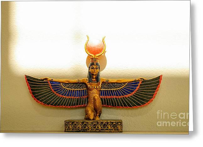 Hathor Greeting Cards - DA 20 a Greeting Card by  Otri  park