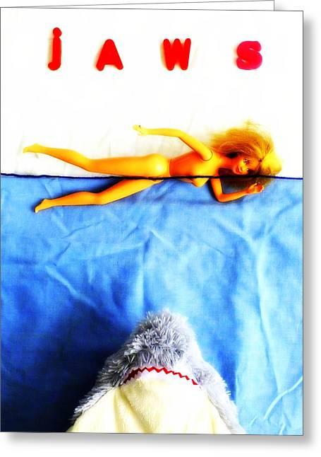 Toy Boat Greeting Cards - Da dum...da dum... Greeting Card by Guy Pettingell