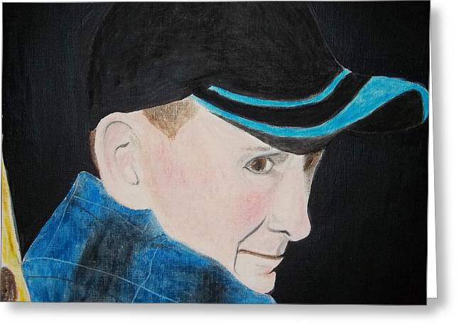 Dad Pastels Greeting Cards - Dad Greeting Card by Cathy Jourdan