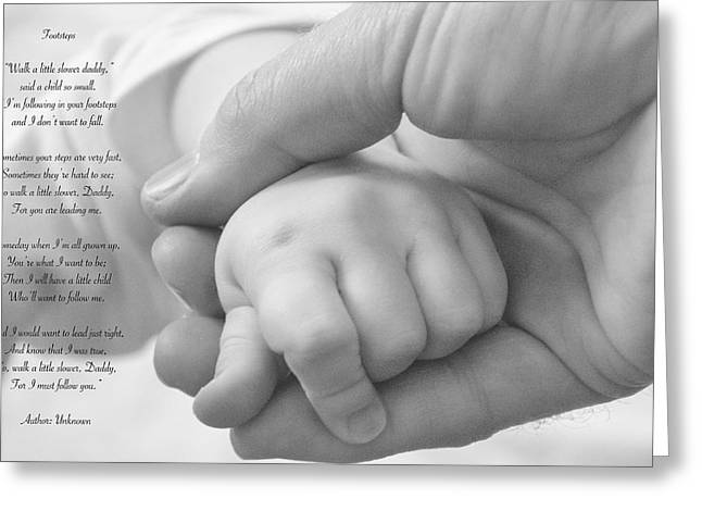 Child Care Digital Greeting Cards - Daddy Greeting Card by Garvin Hunter