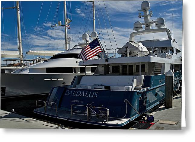 San Diego Harbor Cruise Greeting Cards - Daedalus Greeting Card by See My  Photos