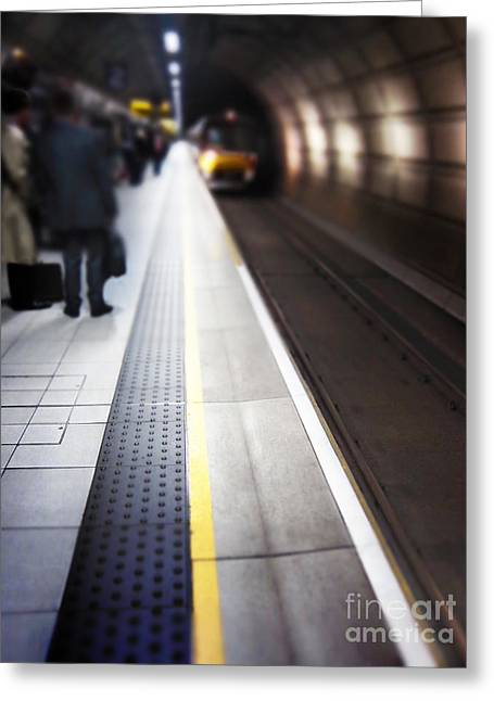 Briefs Greeting Cards - Daily Commute Greeting Card by Margie Hurwich