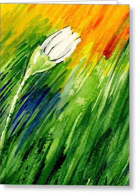 Daisy Framed Prints Greeting Cards - Daisy 3 of 3 Greeting Card by Annie Troe