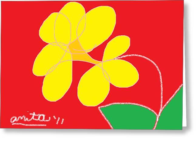 Anita Dale Livaditis Greeting Cards - Daisy Greeting Card by Anita Dale Livaditis