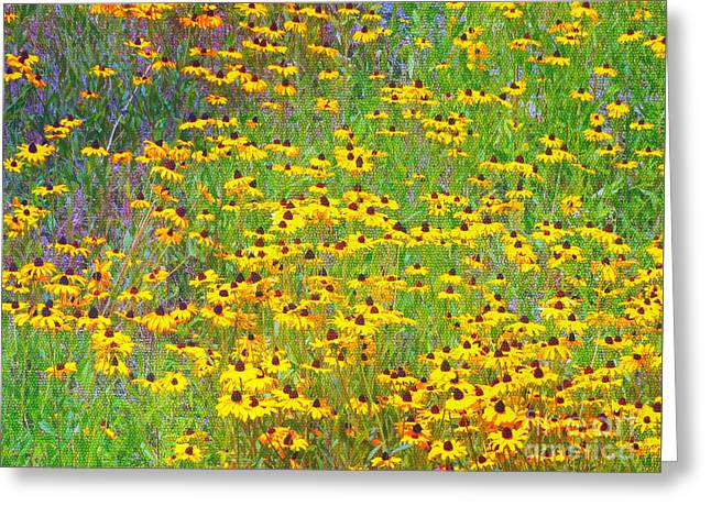 Subtle Colors Greeting Cards - Daisy Dreams Greeting Card by Gena Weiser