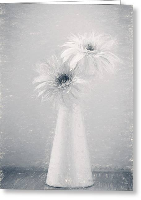 Mother Gift Greeting Cards - Daisy Love Greeting Card by Kim Hojnacki