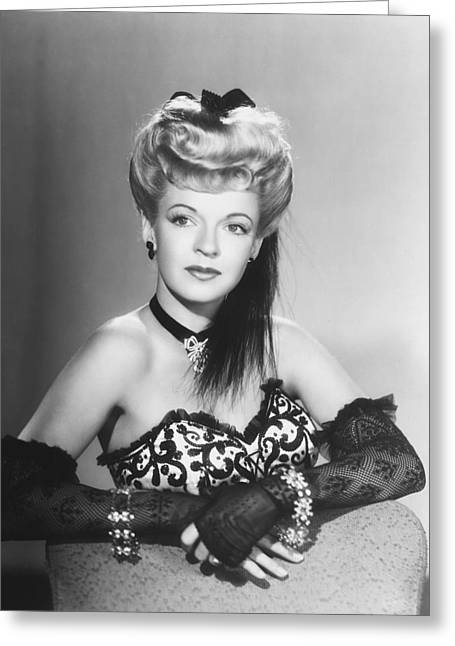 Glamorous Greeting Cards - Dale Evans Greeting Card by Silver Screen