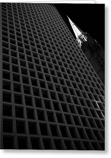 Daley Plaza Greeting Cards - Daley Plaza Greeting Card by Bohuslav Jelen
