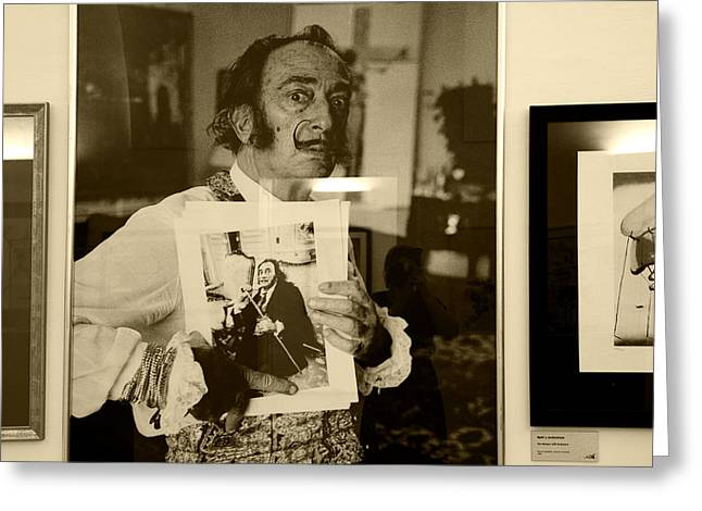 Provocation Greeting Cards - Dali for Today Greeting Card by Joanna Madloch
