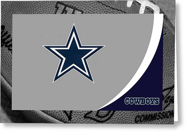 Goals Greeting Cards - Dallas Cowboys Greeting Card by Joe Hamilton