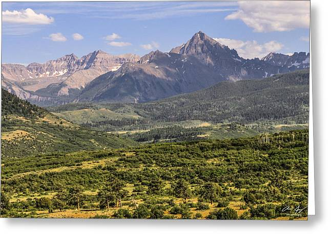 Fourteeners Greeting Cards - Dallas Divide Greeting Card by Aaron Spong