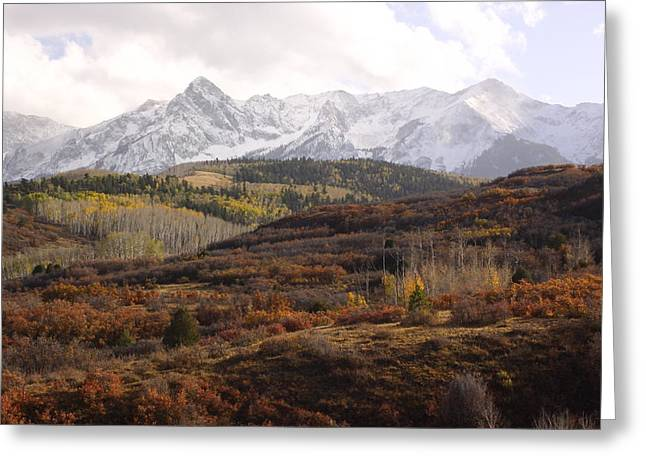 Fall Photographs Greeting Cards - Dallas Divide Greeting Card by Eric Glaser