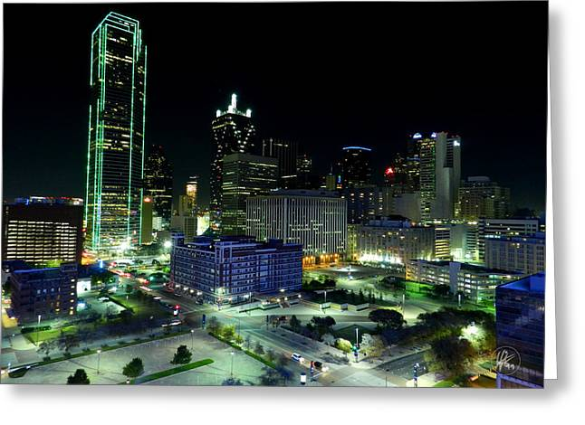 Dallas Hdr 007 Greeting Card by Lance Vaughn