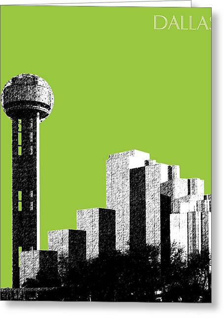 Hall Greeting Cards - Dallas Reunion Tower Greeting Card by DB Artist