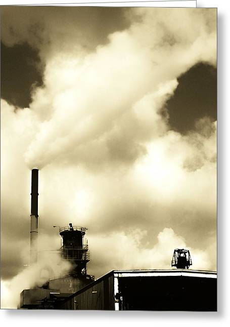 Foundry Greeting Cards - Daltons Foundry Greeting Card by Michael L Kimble