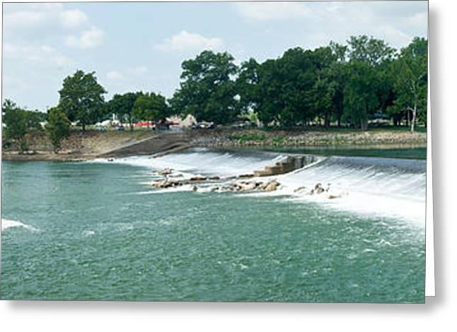Dam at Batesville Arkansas Greeting Card by Douglas Barnett