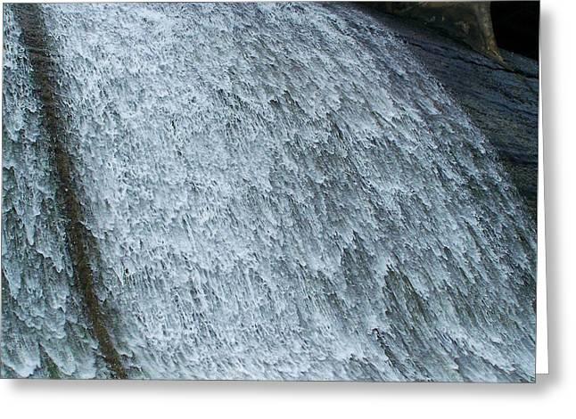 Dam Waterfall 3  Greeting Card by Chris Flees