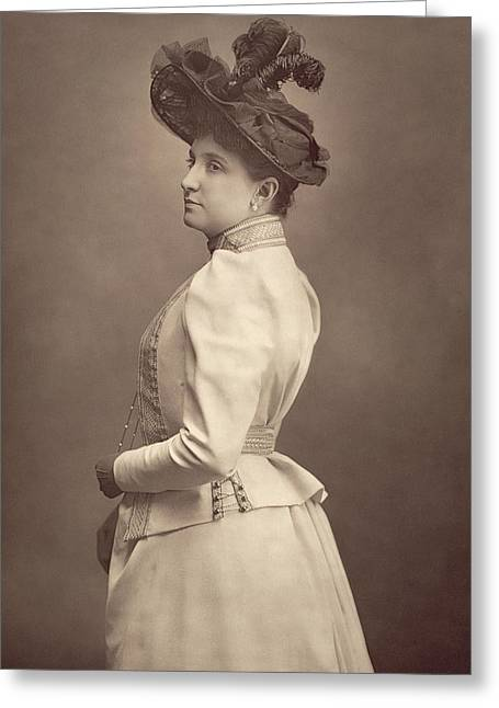Dame Nellie Melba Greeting Card by Stanislaus Walery