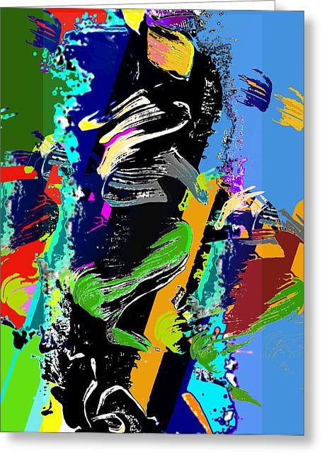 Jame Hayes Digital Art Greeting Cards - Dance 1 Greeting Card by Jame Hayes