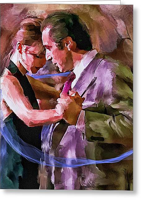 Excellent Greeting Cards - Dance me to the end of Love 1 Greeting Card by Yury Malkov