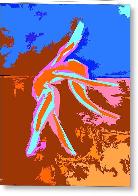 Print Card Greeting Cards - Dance Of Joy 2 Greeting Card by Patrick J Murphy